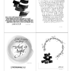Lectionary Art Annual Subscription –  Art for Worship Bulletins, Bulletin Covers, Revised Common Lectionary Art